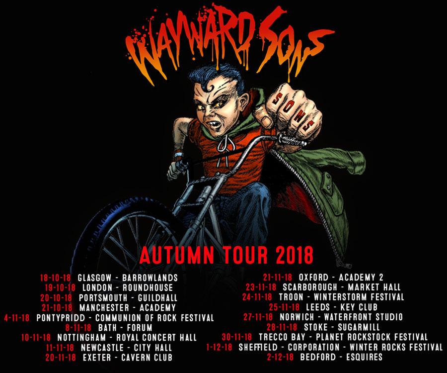 Wayward Sons Tour